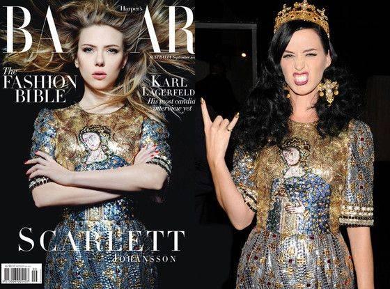 Scarlet Johansson dengan Katy Perry