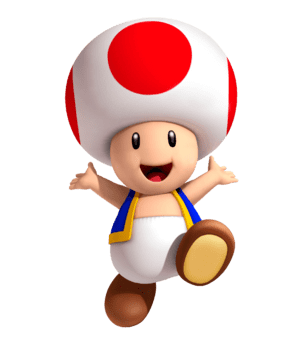 Karakter Toad