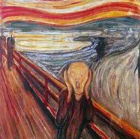 Edward Munch Poster Seni Cetak